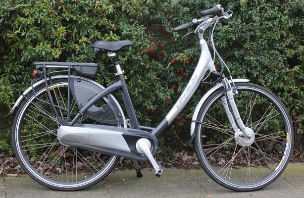 Электровелосипед с женской рамой
