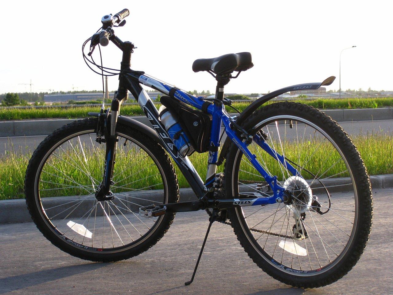 Горный велосипед STELS с алюминиевой легкой рамой