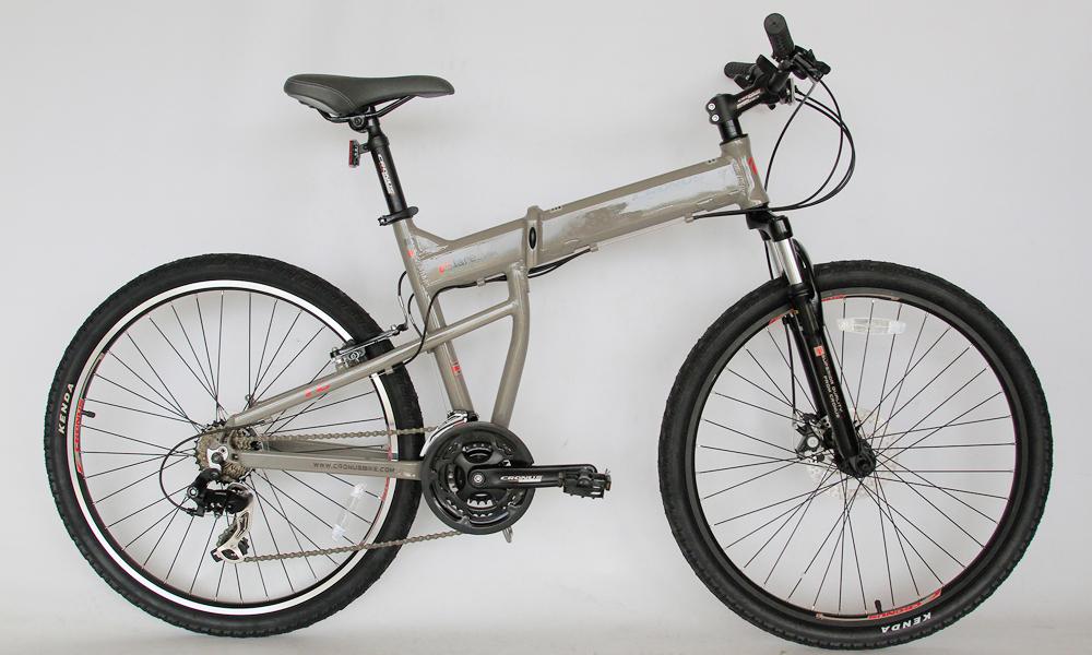 Велосипед со складной рамой и диаметром колес 26 дюймов merida Soldier