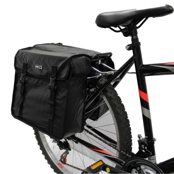 Внешний вид боковых велосипедных сумок