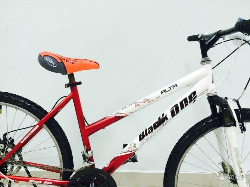 Внешний вид велосипед Black One