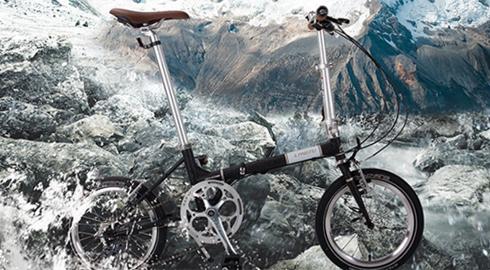 Складной велосипед Langtu для городской езды