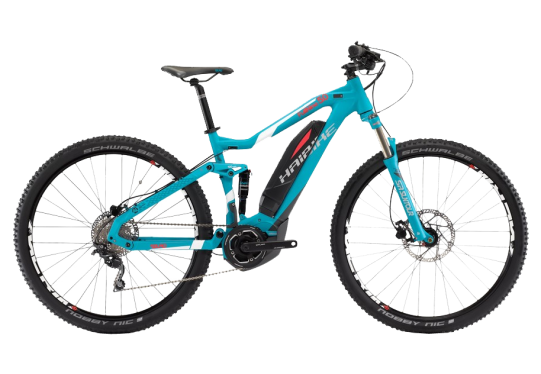 Электровелосипед Haibike (2017) Sduro FullNine 5.0 400Wh 10-Sp Deore