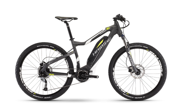 Электровелосипед Haibike (2017) Sduro HardSeven 4.0 400Wh 9-Sp Acera